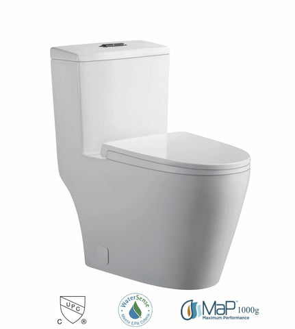 Dual Flush One-piece Toilet SK137