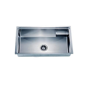 Small Corner Radius Single Bowl Sink