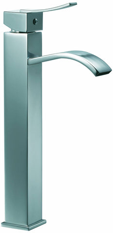 Single-lever tall lavatory faucet