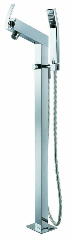 Single-lever floor-standing shower/bath mixer