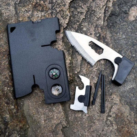 Multitool-tactical-knife-gift-feed on credit card