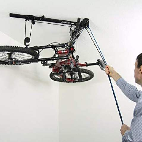 Horizontal Bike Hoist - Bike Storage Racks