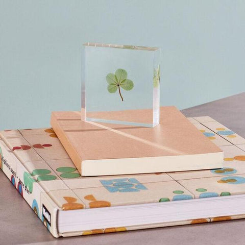 Lucky-Clover-paper-weight-books-house-warming-gift-ideas-giftfeed