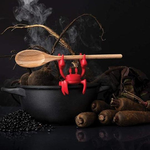 Red Crab-Spoon-Holder & Steam-Releaser-House-Warming-Gift Ideas-Giftfeed