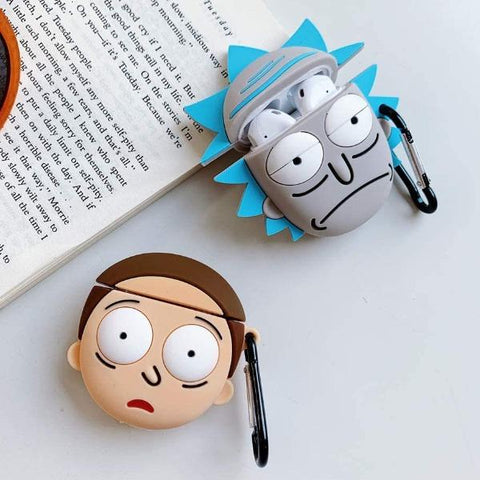 Rick-And-Morty-Airpod-Case