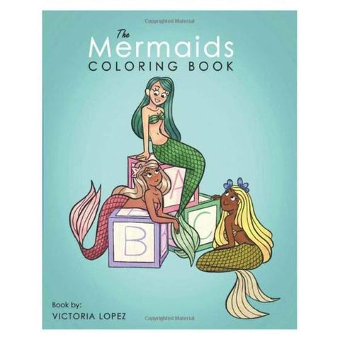 THE-MERMAIDS-Coloring-Book-For-Kids-Gift-Feed