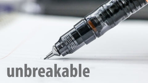 The Mechanical Unbreakable Pencil