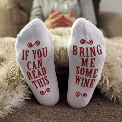 Women-Novelty-Socks-If-You-Can-Read-This-BRING-ME-SOME-VINE-Socks-Gift-Feed