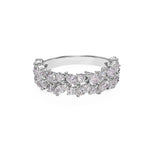 Marquise Diamond Half Eternity Ring