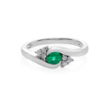 Emerald and Diamond Ring - HN JEWELRY