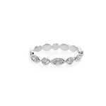Marquise Diamond Eternity Stacking Ring