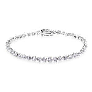 Diamond Tennis Bracelet (1.85 cttw) in 18K White Gold - HN JEWELRY