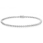 Diamond Tennis Bracelet (1.00 cttw) in 18K White Gold - HN JEWELRY