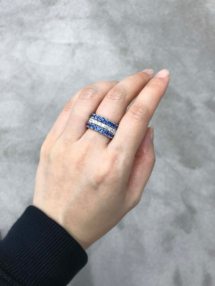 blue_sapphire_eternity_wedding_band_white_gold