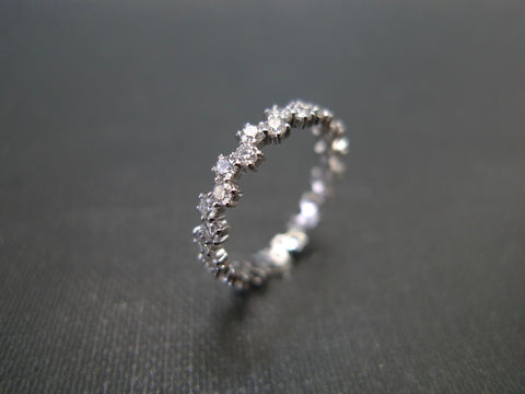 Diamond Wedding Eternity Band