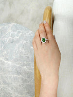 green_jade_diamond_engagement_ring