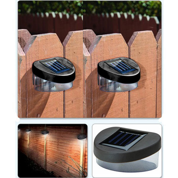 Fence Mount Solar Lamp