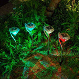 Waterproof Solar Lamps-4pcs/lot