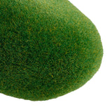 Green Artificial Moss Stones-8 Pcs