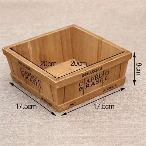 Fashion Plants Wooden Box