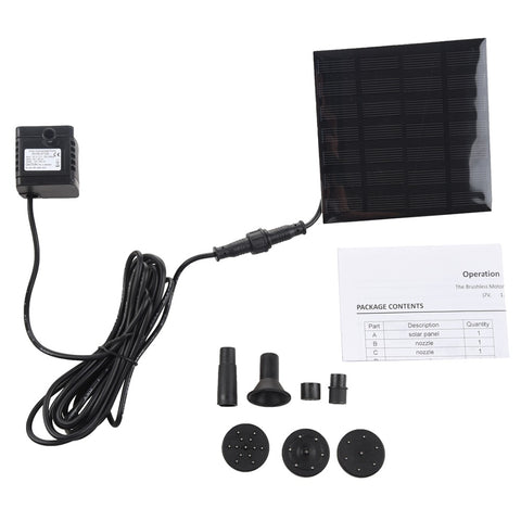 Water Pumps Solar Panel