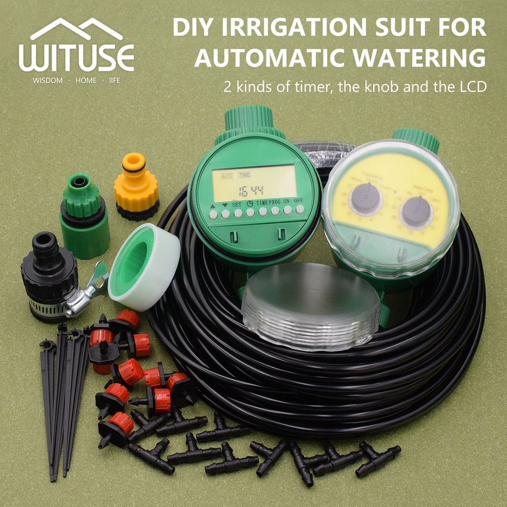 DIY Micro Drip Irrigation System