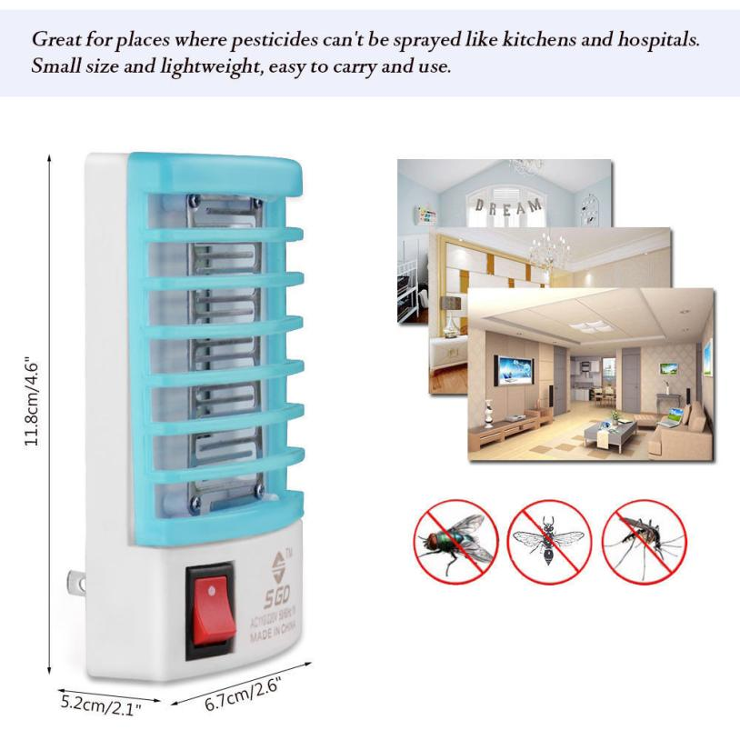 LED Socket Electric Insect Trap