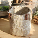 Natural Straw Baskets Decor