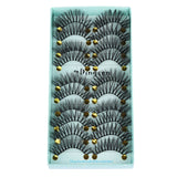 10 Pairs 3D Soft Faux Mink Hair False Eyelashes