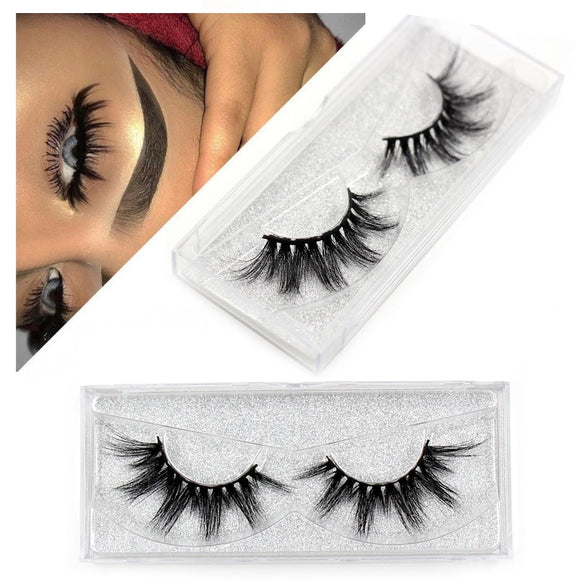 Mink Eyelashes Thick Natural Long False Eyelashes