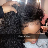 Deep Curly 360/370/13x6/Fake Scalp Lace Front Human Hair Wigs