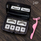 Magnetic eyelashes 4 part 3D/6D magnet lashes Gift Box