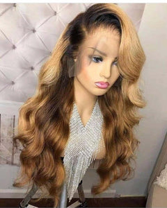 Human Virgin Hair Pre Plucked Lace Front Wig And Full Lace Wig For Black Woman Free Shipping