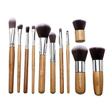 Bamboo Brush Set (10 Piece)-MUB001