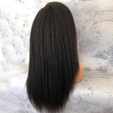 Kinky Straight 360 Frontal Wig With Baby Hair Indian Virgin  [HW022]