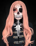FPC Rose Pink Synthetic Lace Front Wigs SLW001
