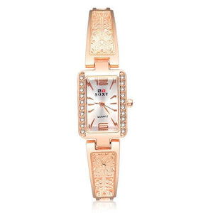 luxury bracelet watch women watches rose gold women's watches diamond ladies watch clock