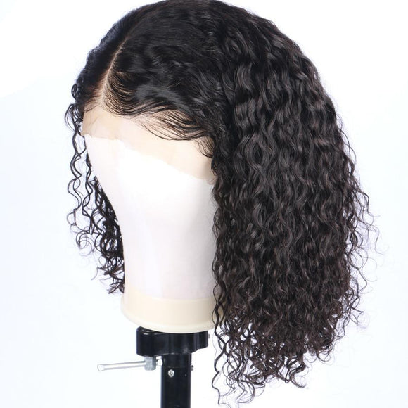 180% Density 360 Lace Frontal Wig Pre Plucked With Baby Hair curly Natural Hairline 10