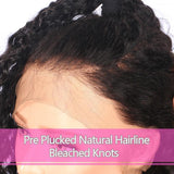 "180% Density 360 Lace Frontal Wig Pre Plucked With Baby Hair curly Natural Hairline 10""-16"" Brazilian Remy Hair Wigs"