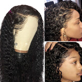 360 Lace Frontal Wig Pre Plucked With Baby Hair Brazilian Curly Lace Front Human Hair Wigs