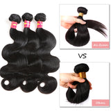 6A Grade Brazilian Virgin Hair Body Wave 3Pcs/Lot Natural Color
