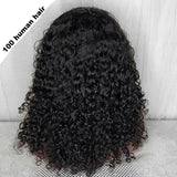 Curly Lace Front Human Hair Wigs Pre Plucked With Baby Hair Glueless Lace Front Wigs For Black Women Brazilian Remy Hair Wig