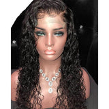 13*6 Deep Part Brazilian Lace Front Human Hair Wigs Pre Plucked Curly Remy Hair Lace Wigs With Baby Hair Bleached Knots