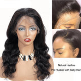 Brazilian Body Wave Lace Front Human Hair Wigs Brazilian Hair 360 Lace Frontal Wig Body Wave Free Shipping