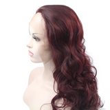 Red Synthetic Lace Front Wigs