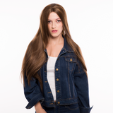 Brown Synthetic Lace Front Wigs