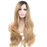 Blonde Lace Front Synthetic Wigs