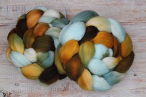 """The Ducky in the Lake"" Roving - Fine Merino"