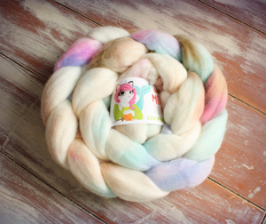 """Angel Kiss"" Roving - Fine Merino"