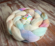 "Load image into Gallery viewer, ""Angel Kiss"" Roving - Fine Merino"